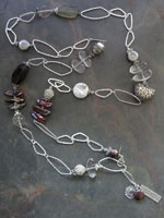 Image of Sterling Silver and Stone